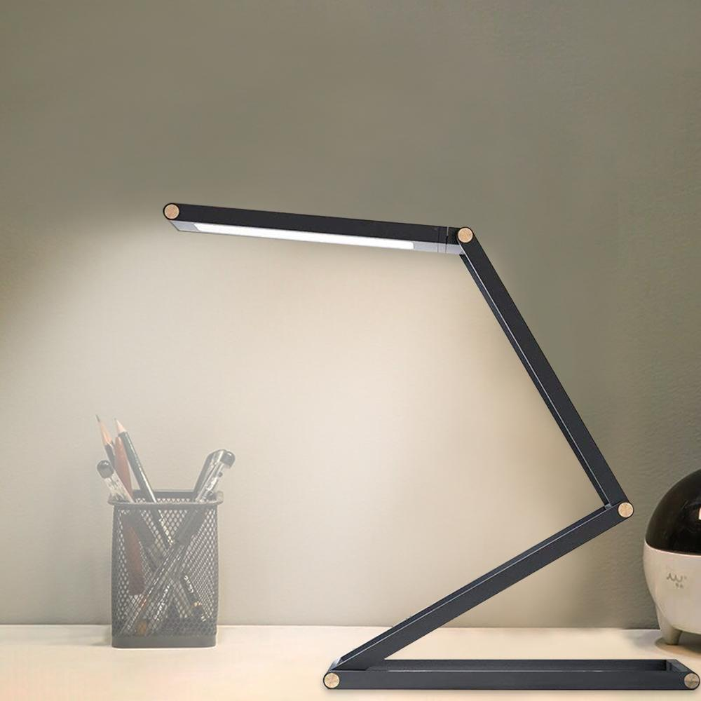 2019 Usb Rechargeable Led Long Arm Desk Lamp Portable Dimmable Led