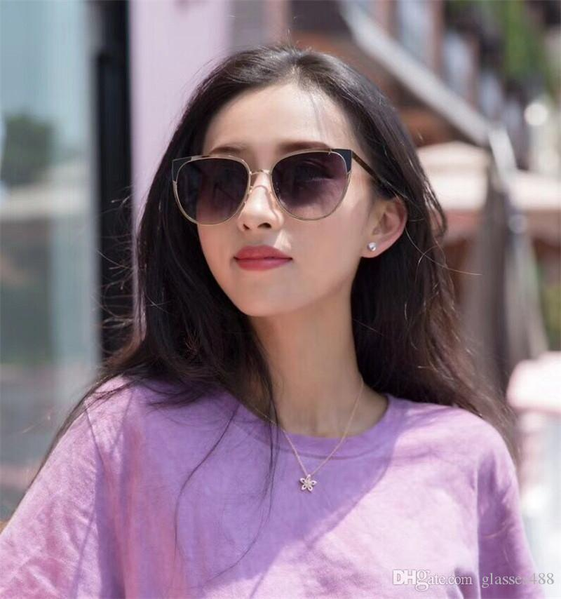 33b797ba189 New Cheap Popular Simple Style Cat Eye Style Outdoor Tourism Sunglasses For Mens  Womens With Best Case Box Polarized Sunglasses Sunglasses For Men From ...