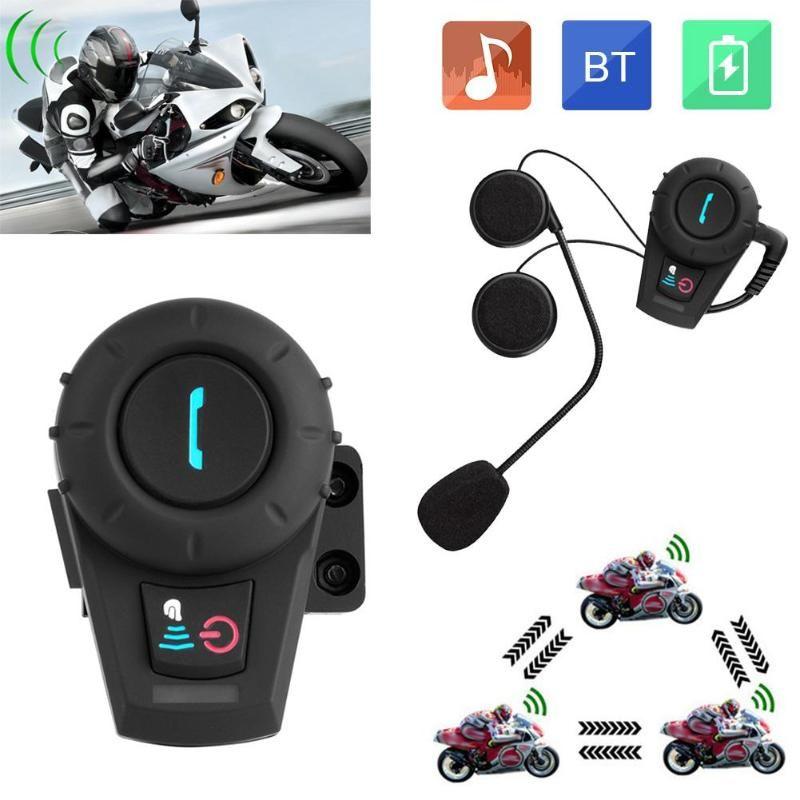 a11f879b3e8 Satın Al 500 M Kablosuz Bluetooth Motosiklet Interkom BT Moto Kask Kulaklık  Interkom 3 Riders Motosiklet Handsfree Interkom, $66.35 | DHgate.Com'da