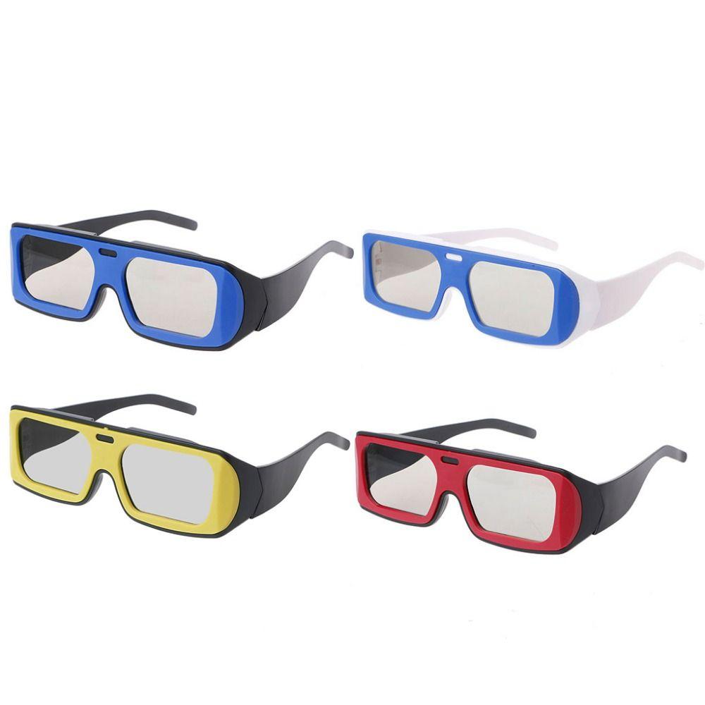 Compre Óculos 3d Dual Color Frame Circular Polarizada Passiva 3d Óculos  Estéreo Para Real D Tv Cinema Jul12 Dropshipping De Albar,  35.73    Pt.Dhgate.Com 034763a9c7
