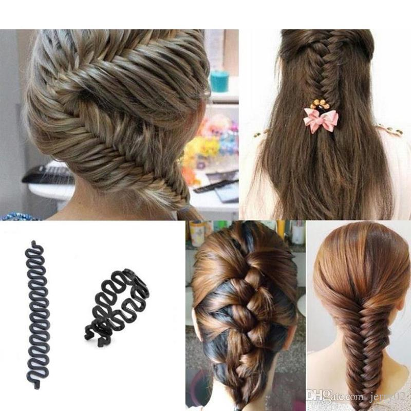 Hair Braiding Tool Braider Roller Hook With Magic Hair Twist Styling Bun  Maker Women s Professional Hair Styling Tools Online with  0.66 Piece on  Jerry02 s ... 4154f7f74042