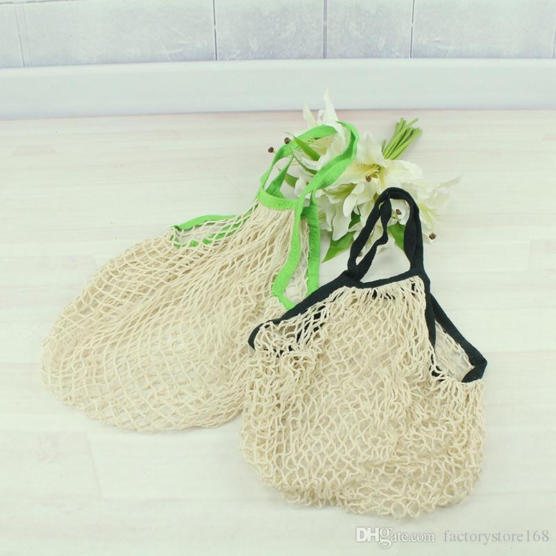 Hot Sale Reusable String Einkaufs-Einkaufstüte Shopper Ineinander greifen-Netz Woven-Tragetasche Tragbarer Einkaufstasche