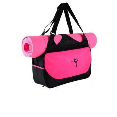 Multi-function Yoga Backpack Yoga Bag Gym Mat Bag Waterproof Yoga ... b83a3233b82f5