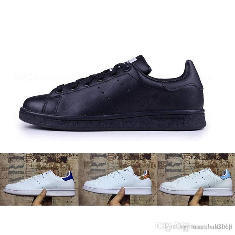 c91fb6010d2 Acheter 2018 Adidas Smith La Nouvelle Marque De Chaussures Pour Hommes Haut  De Gamme De La Marque De Chaussures Pour Hommes Smith Sneakers De Sport En  Cuir ...