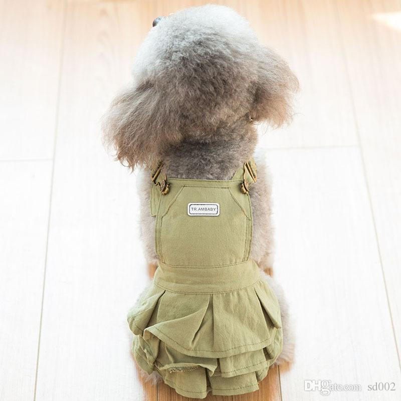 2018 Dog Lovers Rompers Spring And Autumn Thin Style Pomeranian