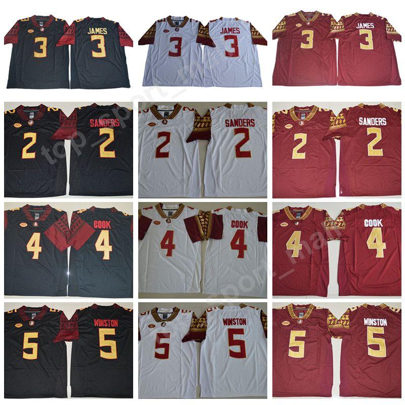 2019 NCAA Florida State Seminoles 2 Deion Sanders Jersey Men College  Football 3 Derwin James 4 Dalvin Cook 5 Jameis Winston 12 Deondre Francois  From ... b6aa5d59e