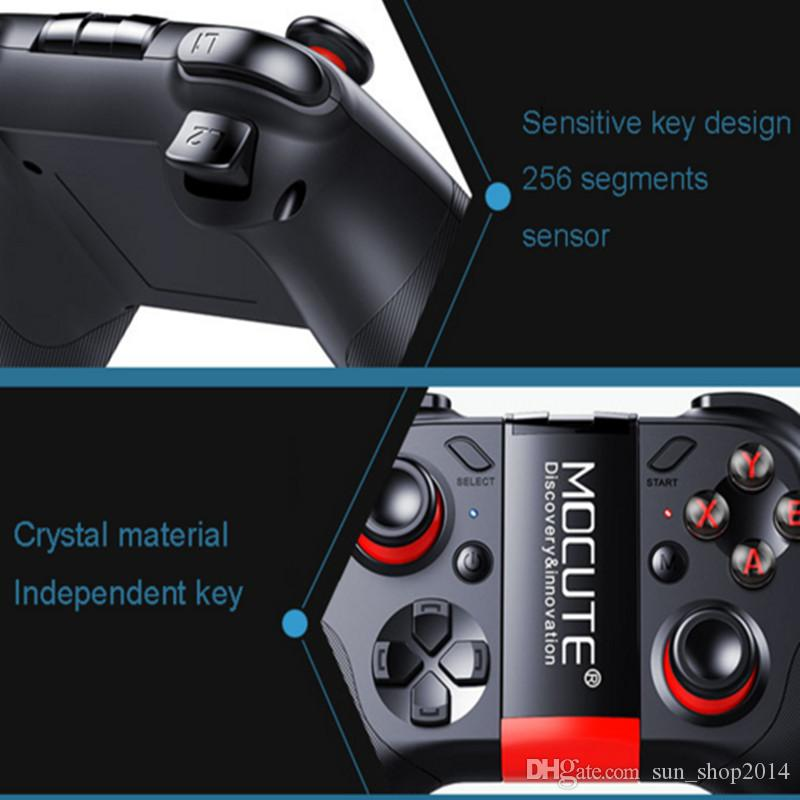 054 sem fio gamepad bluetooth controlador de jogo joystick para android / iso telefones mini gamepad tablet pc caixa de tv vr