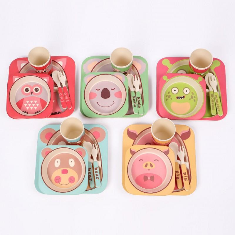 Character Baby Plate Bow Cup Forks Spoon Dinnerware Feeding Set100% Bamboo Fiber Baby Children Tableware Set Tableware Storage Set Packaging Set Phaser ...  sc 1 st  DHgate.com & Character Baby Plate Bow Cup Forks Spoon Dinnerware Feeding Set100 ...