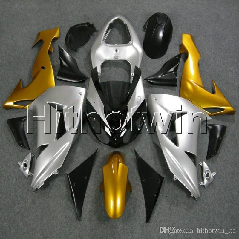 23colors + 8Gifts oro argento Body kit cofano moto per Kawasaki ZX-10R 06 07 ZX10R 2006 2007 Carenatura in plastica ABS