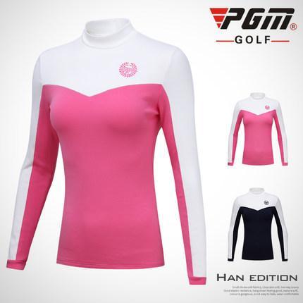 factory authentic 0107e 57aa9 Donna Autunno inverno Golf Camicie di cachemire T-shirt da golf a manica  lunga Abbigliamento sportivo traspirante Polo da donna top in spandex