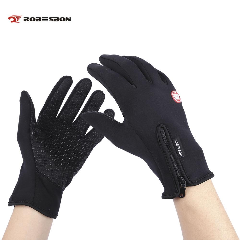 Unisex Warm Cycling Glove Winter Gloves Water Resistant Windproof