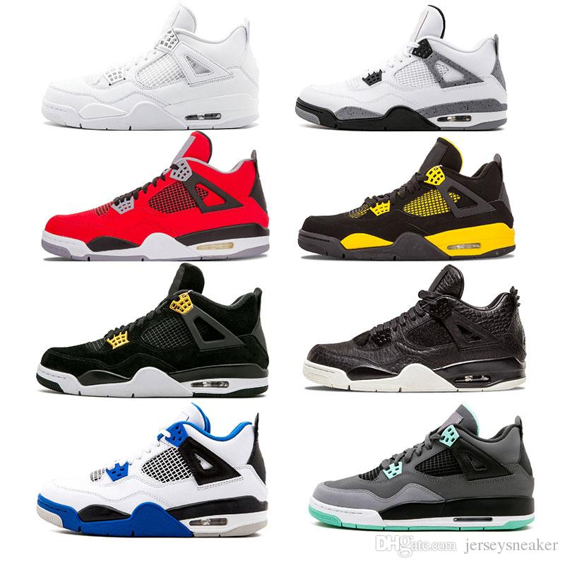 476d90eef7e202 2018 New 4 Basketball Shoes Men 4s Pure Money Black Cat Royalty ...