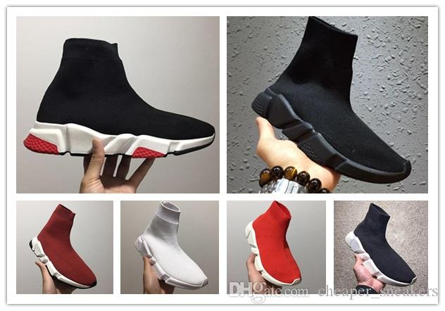 d89502d4 High Quality Luxury Sock Shoe Speed Trainer Running Sneakers Speed Trainer  Sock Race Runners Black Shoes Men And Women Sports Shoes 36-45 Sock Shoes  Running ...