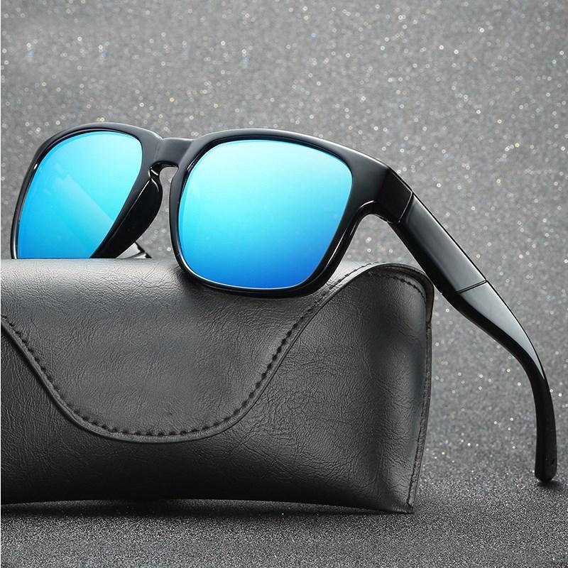 f2accc0c98 2018 New Fashion Semi Rimless Polarized Sunglasses Men Women Brand ...