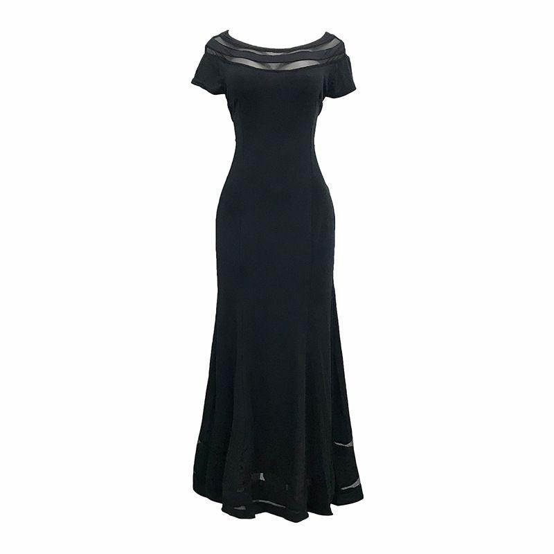 6daba2148f38 Dress Women Summer Mesh Female Clothing Robe Vintage Black Beach Dress  Ethnic Ladies Clothes Women Summer Style Long Dress Party Vestidos Short  White ...