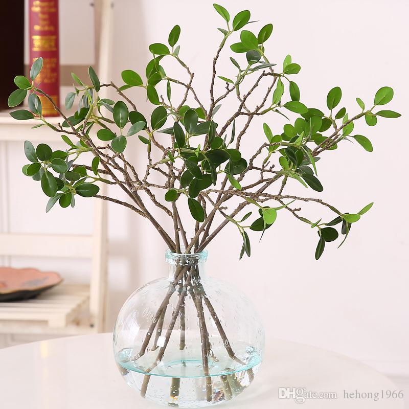 Творческий дом декоративный искусственный цветок пластиковые мини Аглая Одората Ikebana аксессуар моделирования завод цветы горячей продажи 3 8hq Y
