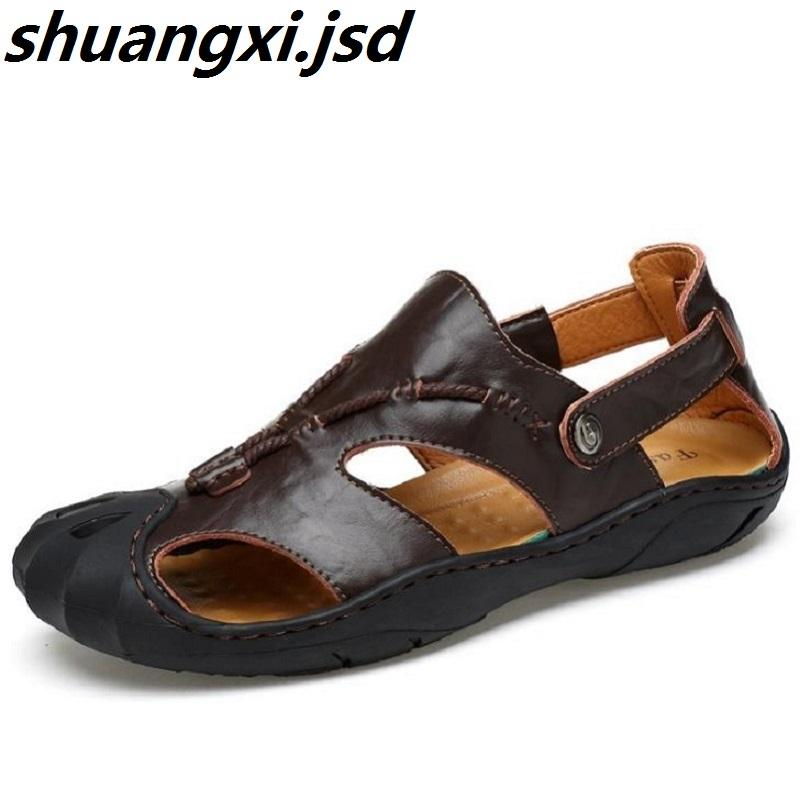 ccc0c4ad2bb8 Men Sandals Leisure Beach Slip On Men Shoes Summer Breathable Sandals Simple  And Comfortable Nice Sewing Zapatos Sandals For Women Knee High Gladiator  ...