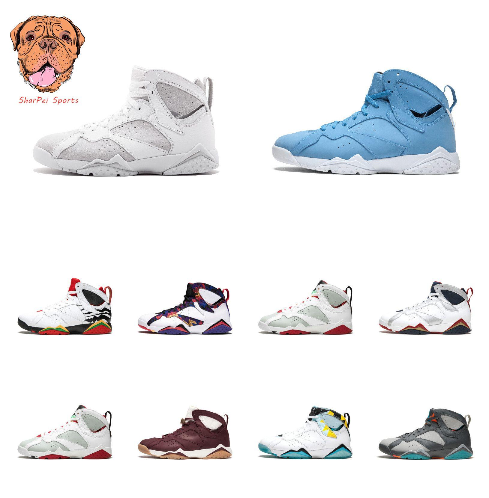 2026fd428cf195 With Box7 7s Designer Shoes Raptor Bordeaux Hare Tinker Alternate ...