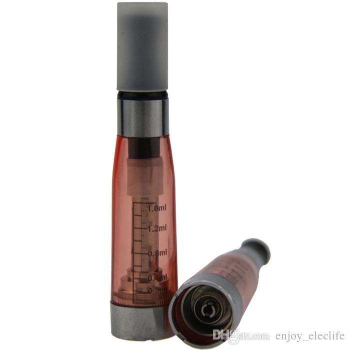 CE5 Buharlaştırıcı E Cigs Wickless 510 Konu 1.6 ml Atomizer Elektronik Sigaralar Için 2.4 ohm 8 renk Clearomizer ego T EVOD