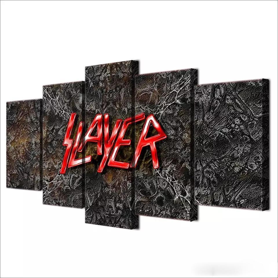 Großhandel Slayer, 5 Stück Leinwand Wandkunst Ölgemälde Home Decor ...