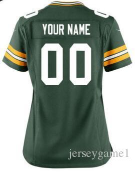 68e2b2f12 Personalized American Football Jerseys Green Minnesota Bay Vikings Packers  Bears Lions Custom Salute to Service Color Rush Jersey 4XL 5XL Custom  Jerseys ...