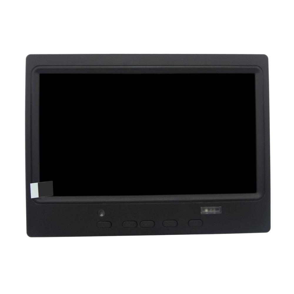 Wearson 7 inch Home Security Monitor HDMI VGA AV HD LCD Display for  Raspberry Pi,CCTV Security Monitoring System Endoscope,etc