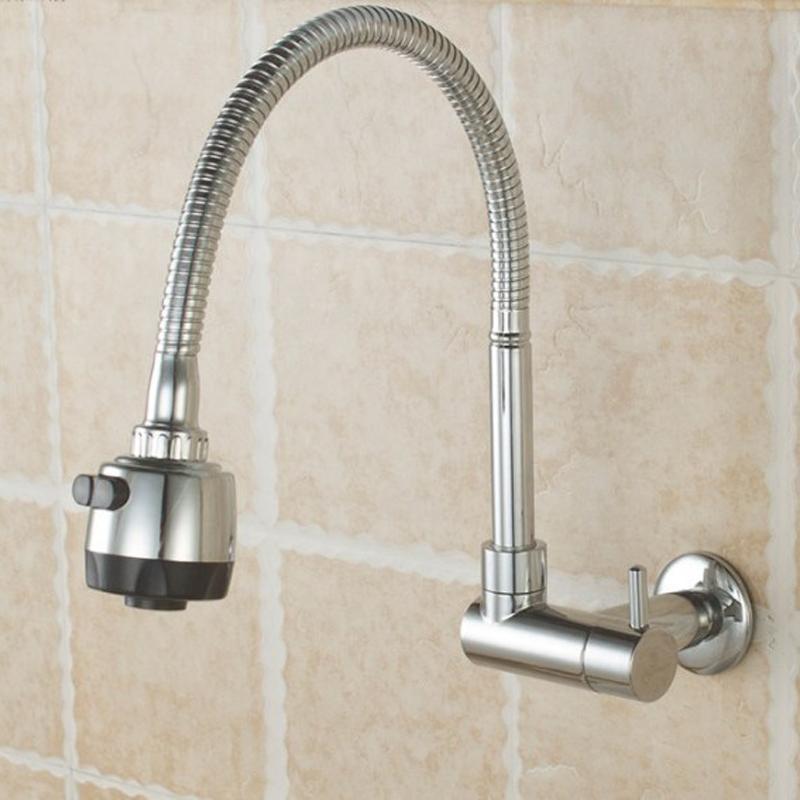 Großhandel In Wand Küche Einzelne Kalte Wasserhahn Becken ...