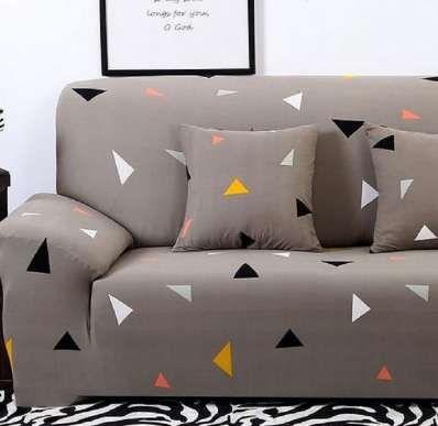 Full Wrap Sofa Cover For Armrest Sofa All Inclusive Colourful Big Elastic Anti Mite Sofa Cover 1 2 3 4 Seat Fundas Para Sofas
