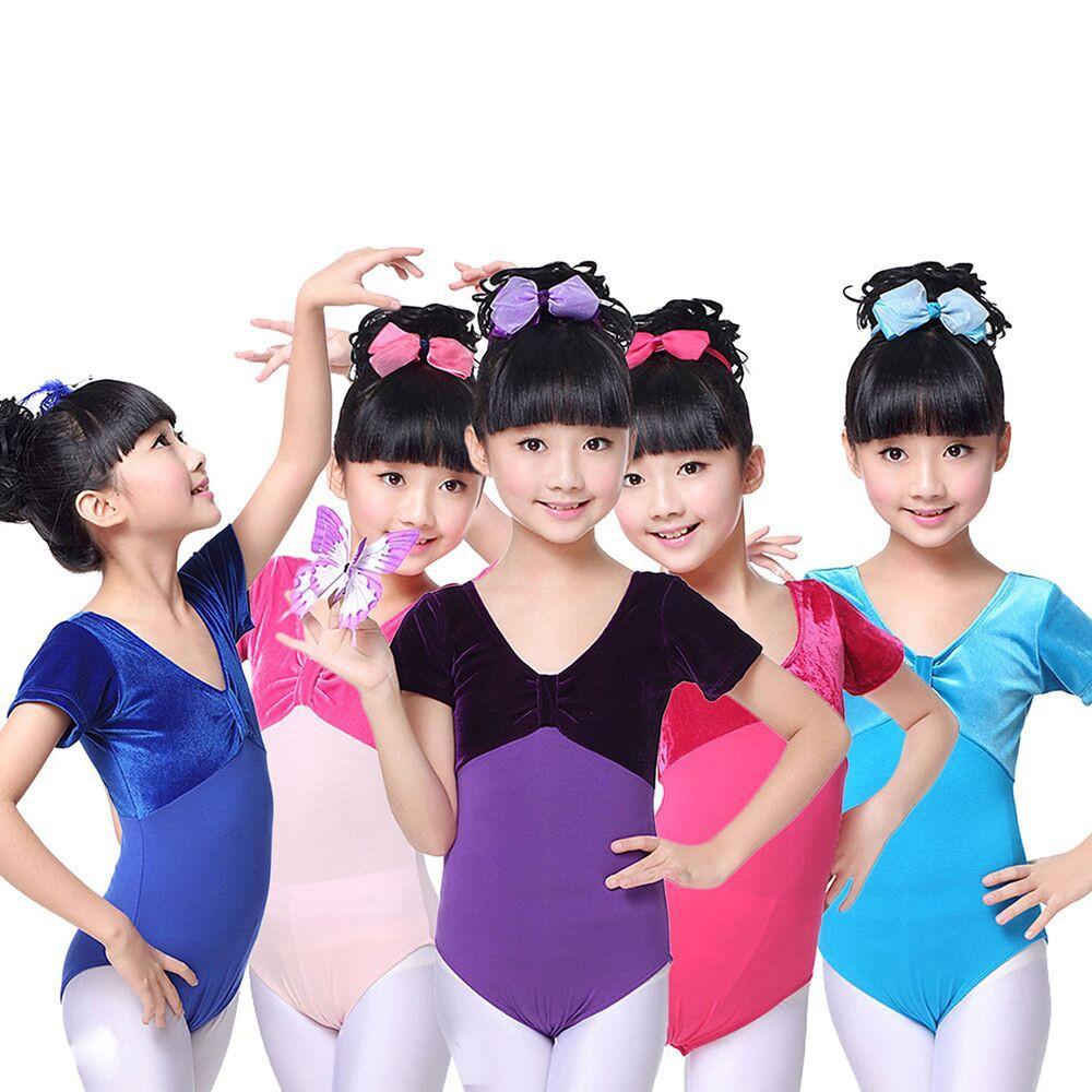 b74a1838a5 Compre MUQGEW Bebê Meninas Meninos Roupas De Inverno Crianças Meninas  Ginástica Collant Dança Ballet Formação Bodysuit Dancewear Tops De Breenca