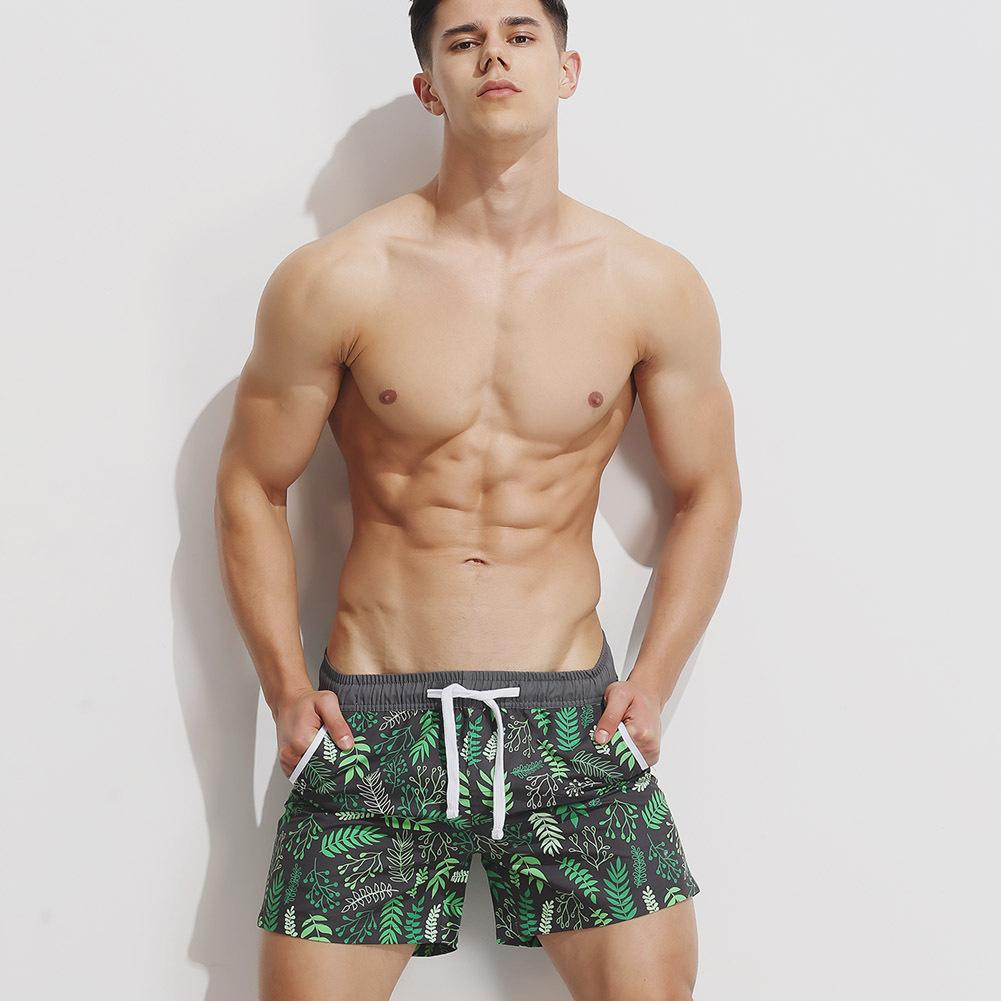 c67e73f0f7c0 2019 2018 Summer New Fashion Man Board Shorts Print Beach Boxers  Comfortable Cool Guy Casual Shorts Breathable Loose Men Short Pants From  Tbwish