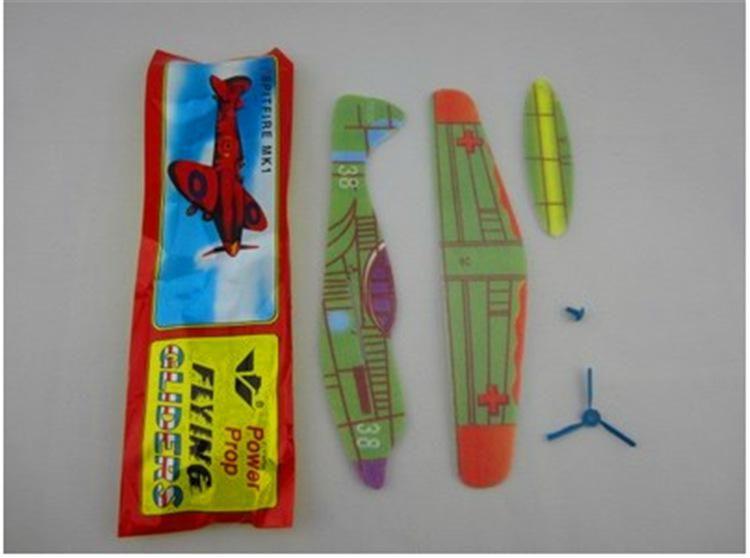 En gros Puzzle Magic Flying Gliders Avion Avion En Mousse Dos Avion Enfants Enfant Jouet Éducatif Bricolage