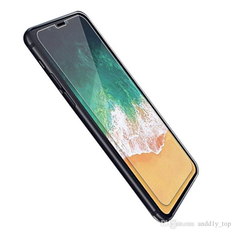 Para Iphone X 8 7 Plus 5S Galaxy S8 7 Protector de pantalla a prueba de explosiones de vidrio templado para iPhone 6 Plus 4 4s 5 5s 5c SSC012