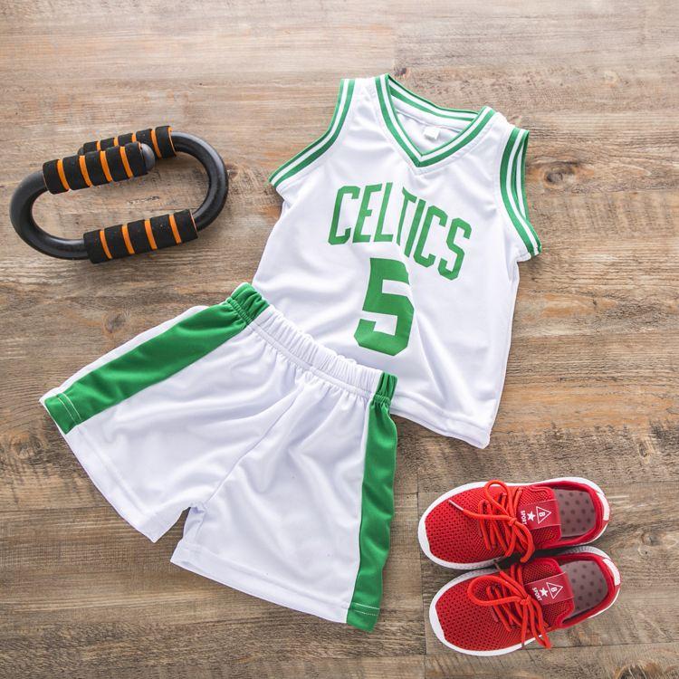 199ed06a9ce99 Acheter Costume De Basket Ball Pour Enfants Maillot D'été Pour Garçons  Jogging Homme Survetement T Shirt Pour Hommes Ensemble Court Costume De  Sport ...