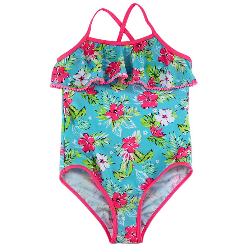78217c7e479 2019 2017 Floral Print One Piece Girls Swimwear Children Swimsuit For Girls  3 14 Years Teenage Child Swim Wear Beachwear Bathing Suit From Edmund02, ...