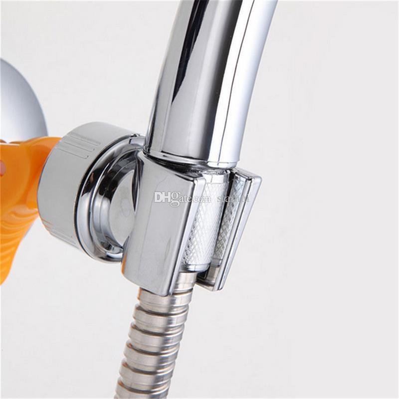 Bathroom Shower Heads Bracket Seat Bathroom Adjustable Shower Head Holder Rack Bracket Suction Cup Wall Mounted Replacement Holder WX9-431