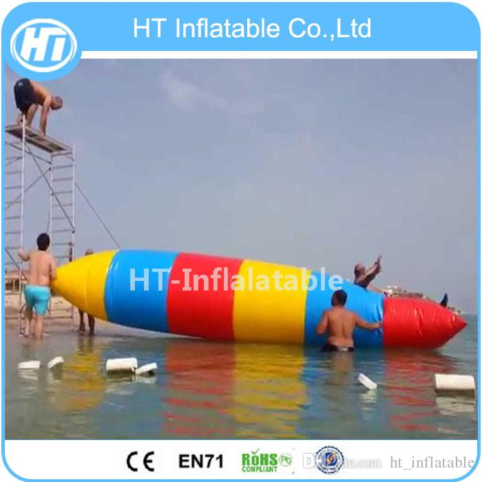شحن مجاني 0.9 ملليمتر pvc 9x3 متر القماش المشمع نفخ المياه المنجنيق فقاعة ، فقاعة الماء القفز لعبة نفخ فقاعة