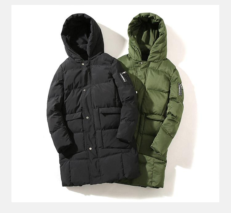 de04435e7 Mens Winter Down Jackets With Hood Clearance Black Packable Down Insulated  Jackets And Coats Lightweight Big And Tall Size