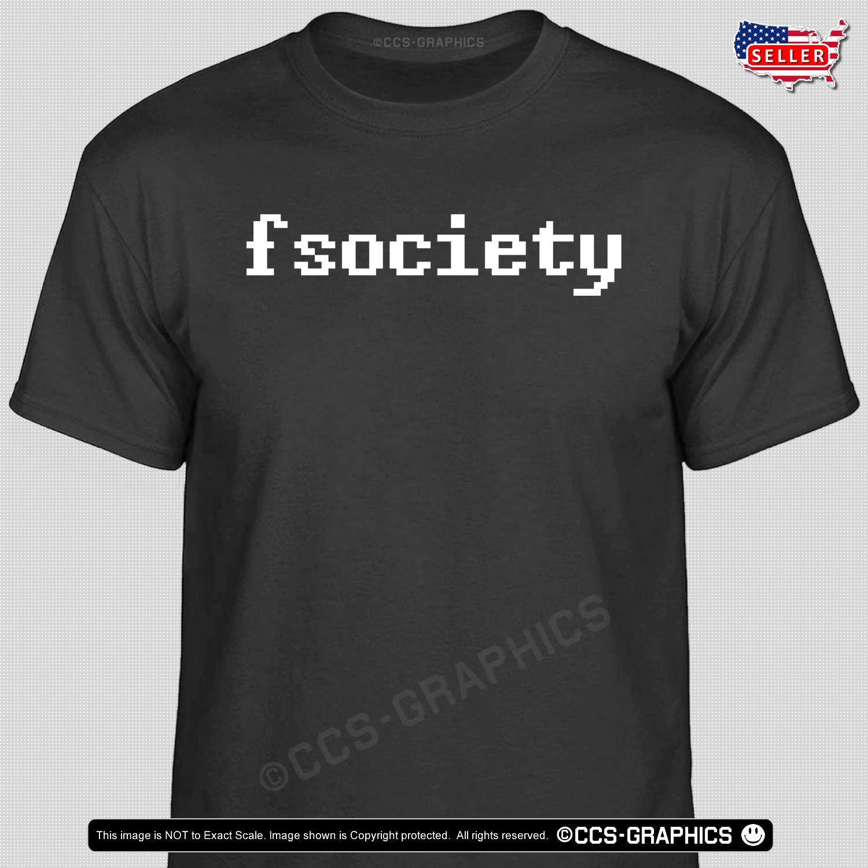 Compre Fsociety MR ROBOT T Shirt Hacktivist Camiseta Anónima Tech Hacker  Informático GamerFunny Envío Gratis Unisex Casual Camiseta De Regalo A   10.28 Del ... a713abd7d31