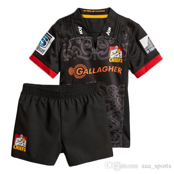 5b268af66b2 2019 2018 2019 Chiefs Crusaders Super Rugby Jerseys Kids Jersey Highlanders  Shirt New Zealand Crusaders Child Kit Shirts S 3xl From Aaa_sports, ...