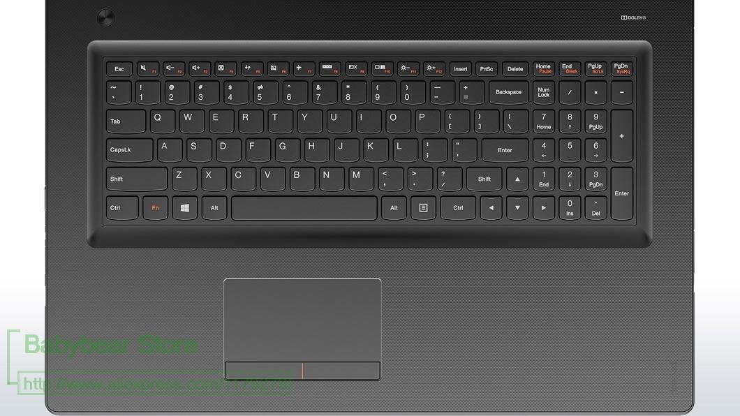 17 3 inch Silicone Keyboard Protector Cover Skin for Lenovo IdeaPad 300 17  300-17 700 700-17