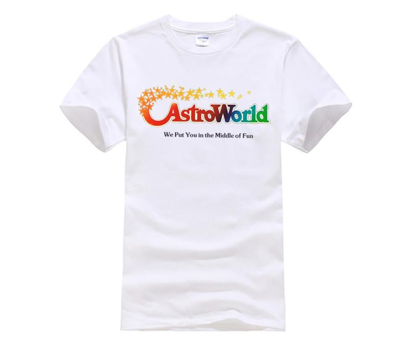 469933648e Astroworld Album NEW Hip Hop Tee T Shirt NEW ARRIVAL Tees Causal ...
