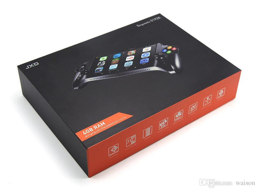 JXD S192K портативные игроки 7 дюймов RK3288 четырехъядерный процессор 4G/64 ГБ геймпад 10000 мАч Android 5.1 планшетный ПК видео игровой консоли