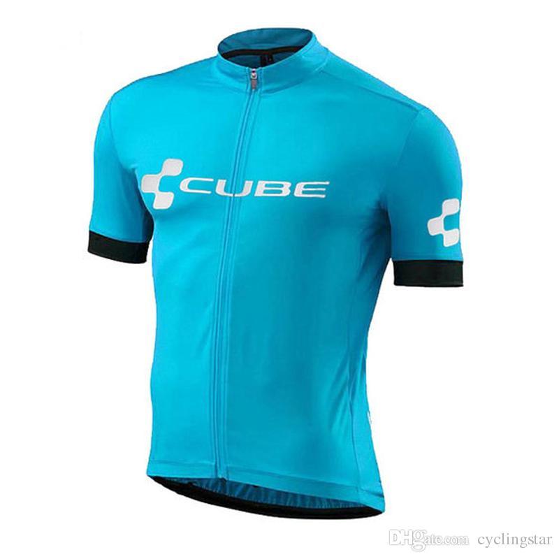Cube 2018 Radtrikot Sommer Racing Tops Radsportbekleidung Ropa Ciclismo Quick Dry Kurzarm-Shirt mtb Bike Jersey A2501
