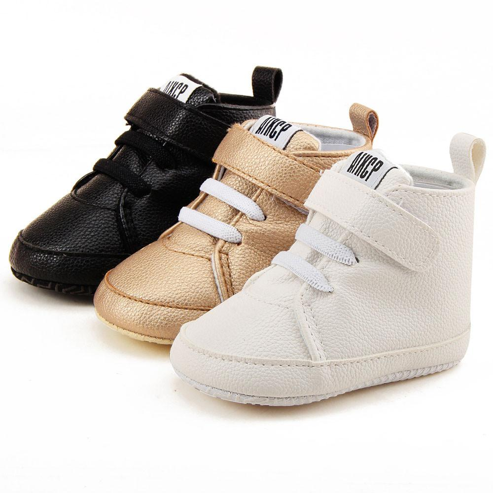 Baby Shoes Boy Girl High Top Shoe Infant Newborn Soft Casual Leather Shoe  Children Boots Kids Bootie Sapatos Sport Sneakers Kids Cowboy Boots  Clearance Rain ... e1000b380