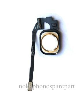Gold Touch Sensor Home Button Key Flex Cable Assembly for iPhone 5S