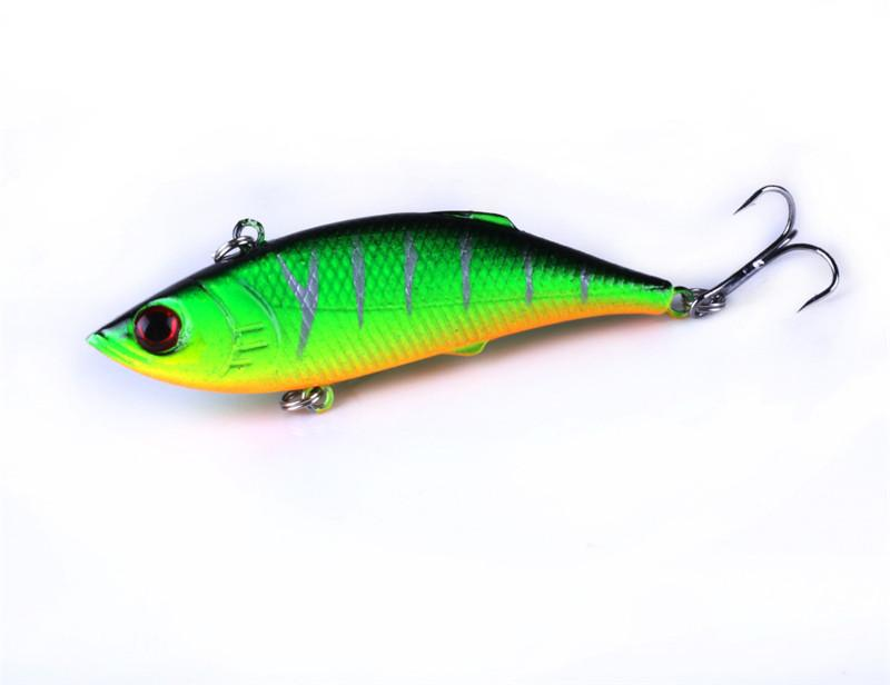 5stylesABS Plastic Fly Fishing bait 3D eyes Green or Silver color Laser Minnow Rattlin Crank Hard Lure