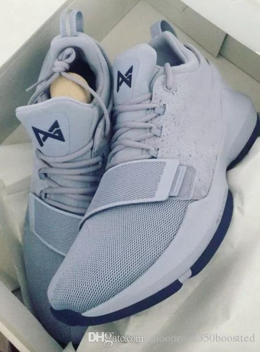 paul george shoes grey