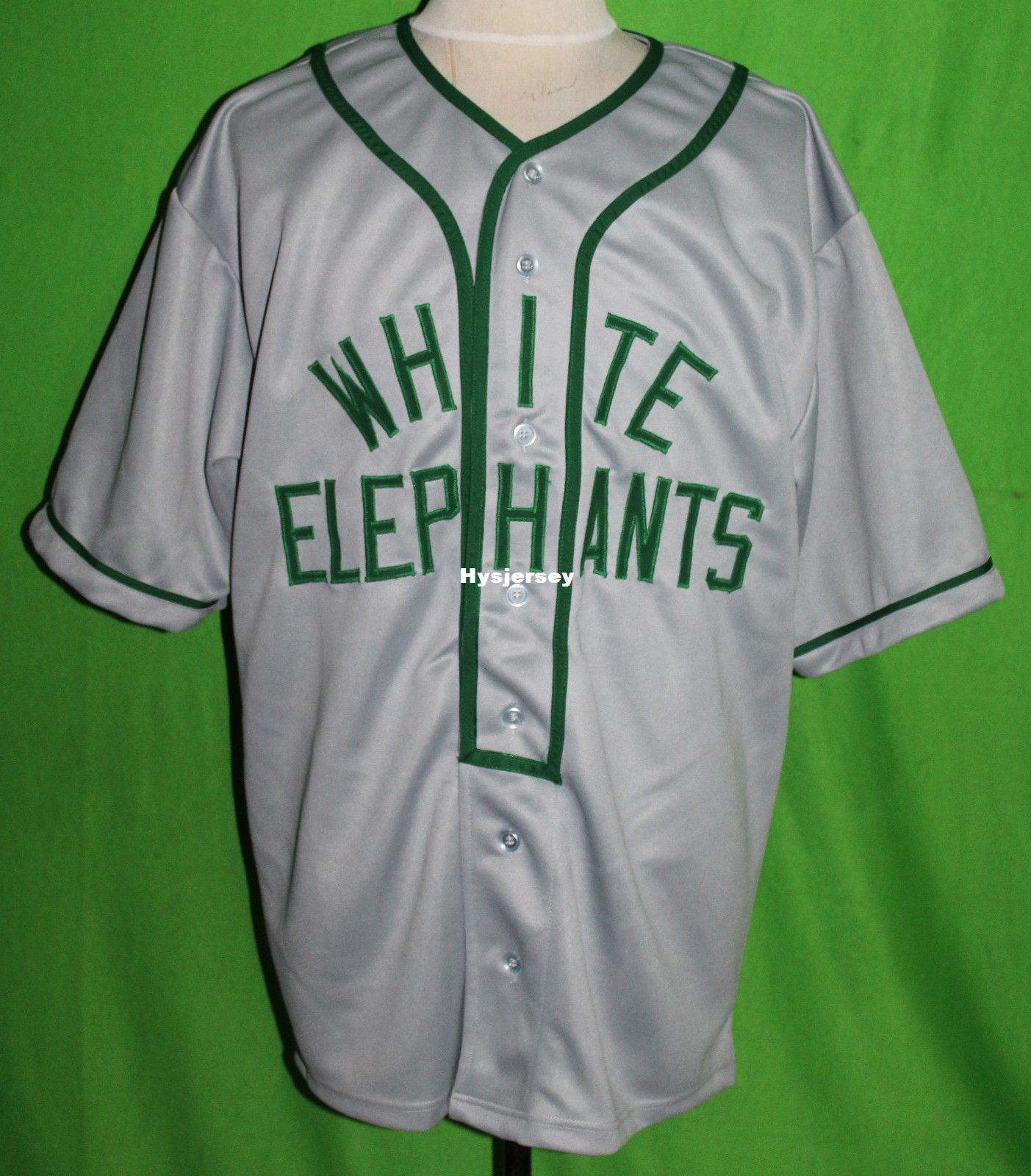 best sneakers 2fd22 4c574 Cheap Retro DENVER WHITE ELEPHANTS #22 1930 Road BASEBALL JERSEY Or Custom  any number any Mens Vintage jerseys XS - 5XL