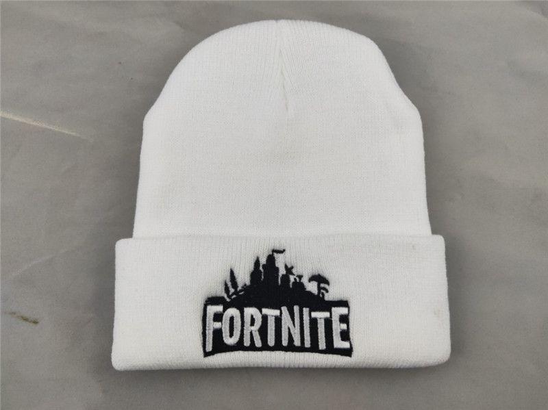 a6561971c6e 2019 Game Fortnite Winter Knitted Beanie Hats Battle Royale Teenager Skull  Cap Men Women Crochet Hats Hip Hop Knitting Caps Beanies Unisex From ...