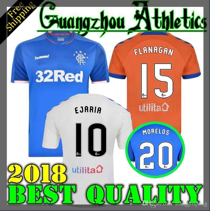 e771158baa4 2019 2019 Rangers FC Home Blue Soccer Jerseys 18/19 Glasgow Rangers Away  White Football Shirt Uniform From Liangjinpeng, $14.87 | DHgate.Com